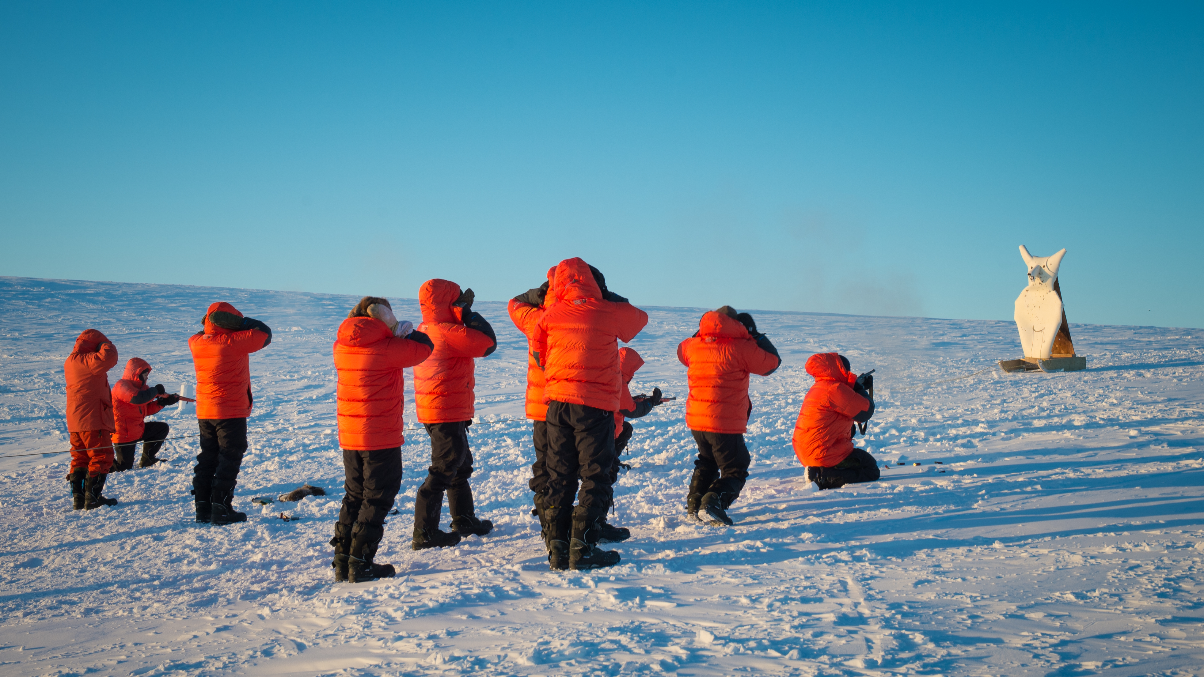 Canadian Forces School of Search and Rescue  course 49 Arctic Survival Phase